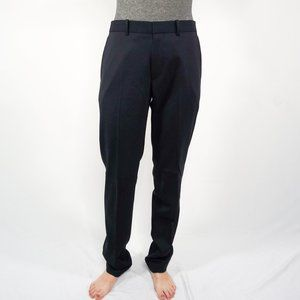THEORY Mayer Navy Wool Twill Trouser Pants NWT